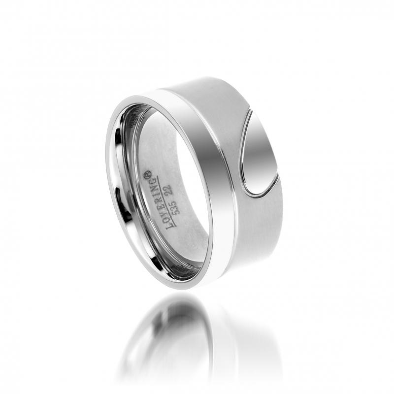 LVR535E Erkek Çelik Yüzük