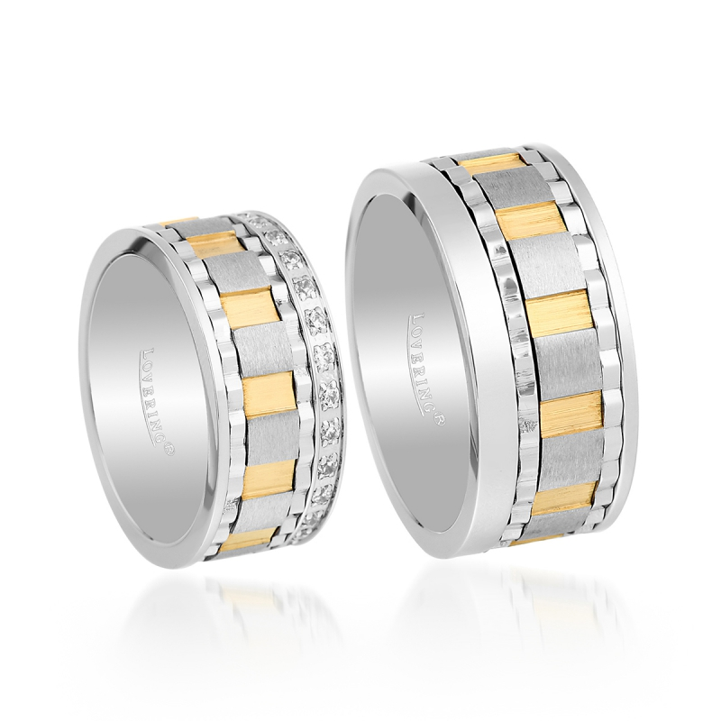LVR518D Couple Ring