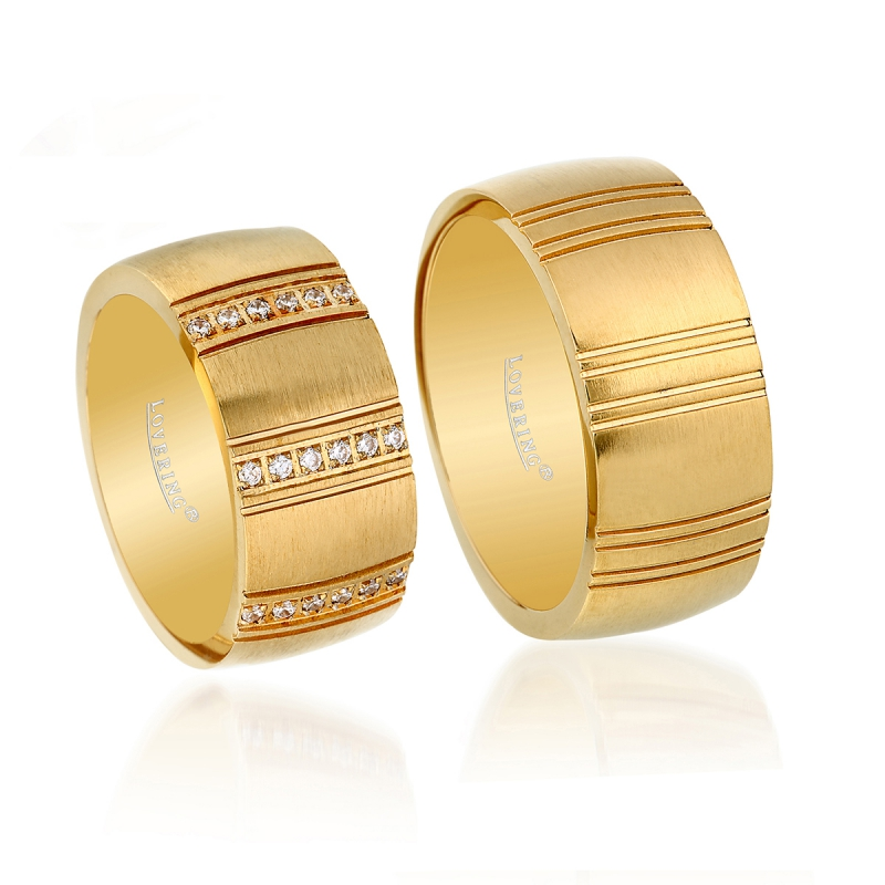 LVR517D Couple Ring