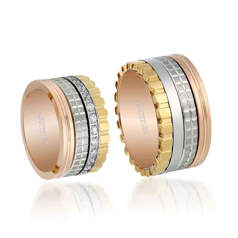 LVR519D Couple Ring