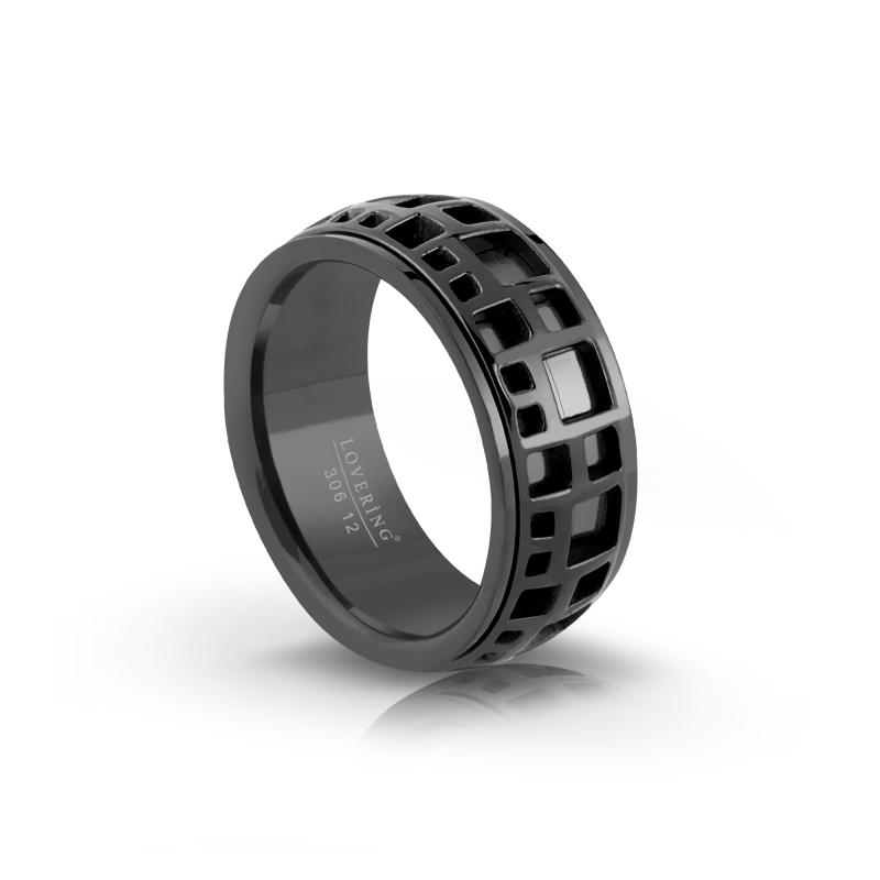 LVR306E Erkek Çelik Yüzük
