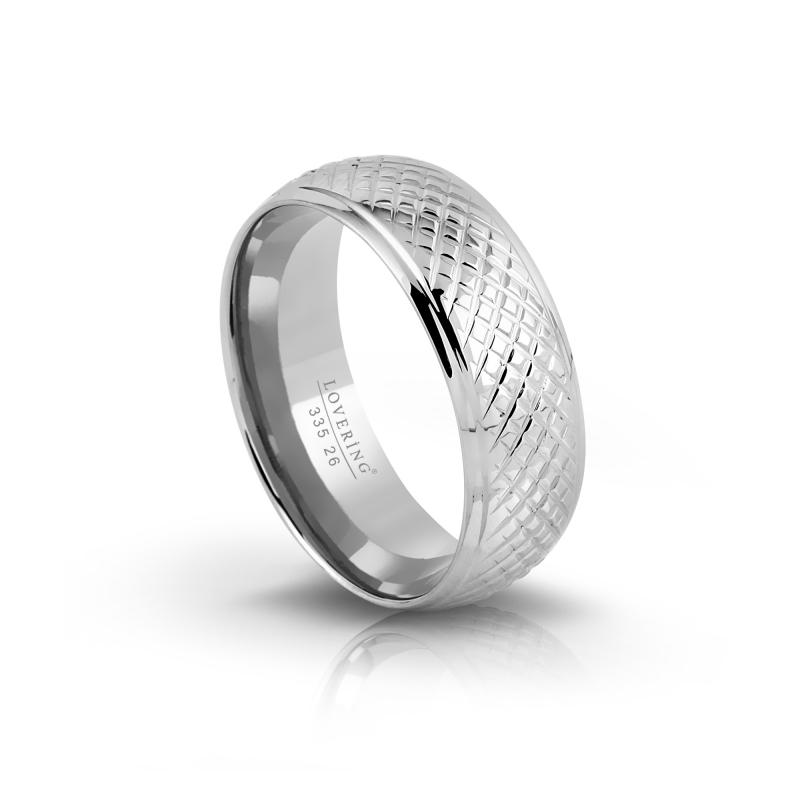 LVR335E Erkek Çelik Yüzük