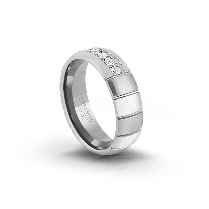 LVR411B Woman Steel Ring