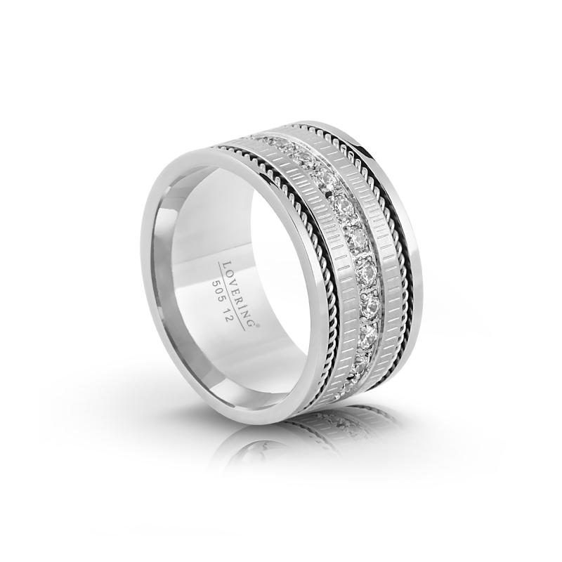 LVR505B Woman Steel Ring