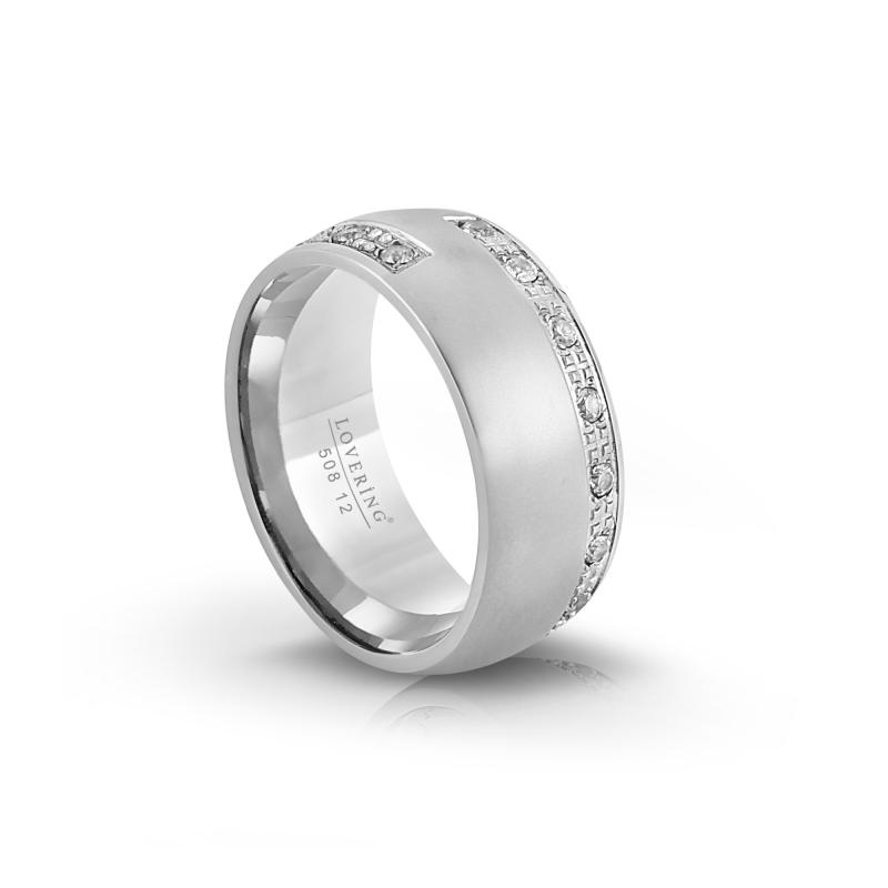 LVR508B Woman Steel Ring