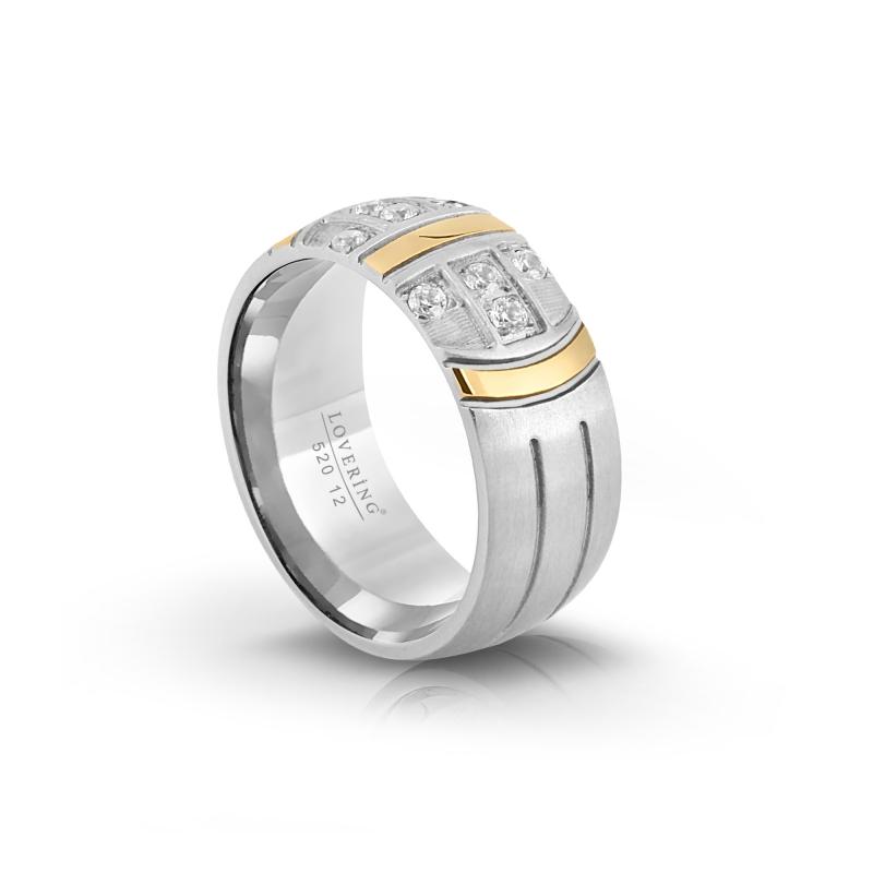 LVR520B Woman Steel Ring