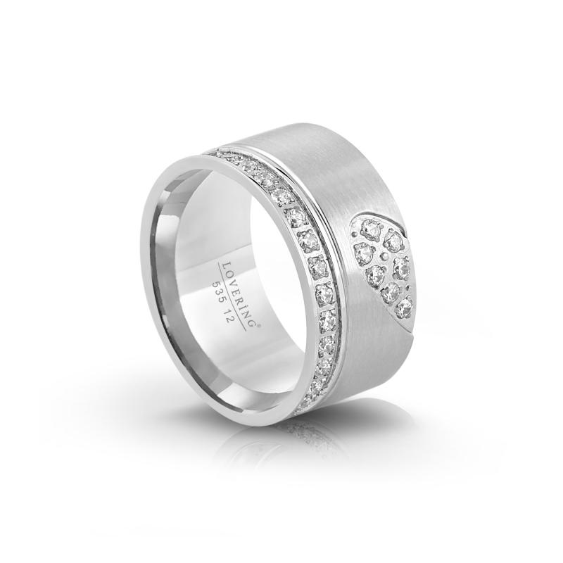 LVR535B Woman Steel Ring