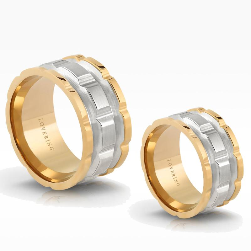 LVR527D Couple Ring